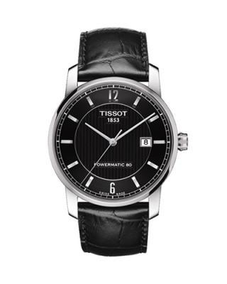 瑞士名表 Tissot 天梭 钛系列男士机械腕表 T087.407.46.057.00