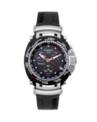 瑞士名表 Tissot 天梭 竞速系列运动时尚男士石英腕表 T027.417.17.201.02