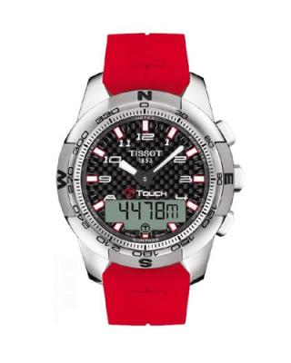瑞士名表 Tissot 天梭 T-Touch II系列运动时尚男士石英腕表 T047.420.47.207.03