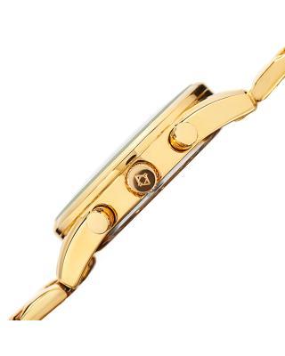 Akribos XXIV 阿克波斯 金色合金表链全金色男士石英腕表