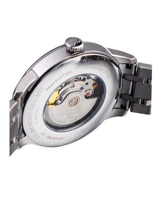 瑞士名表 Tissot 天梭 杜鲁尔系列经典男士自动机械腕表T099.408.11.058.00