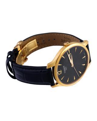瑞士名表 Tissot 天梭 俊雅系列经典怀旧款石英男表T063.610.36.057.00