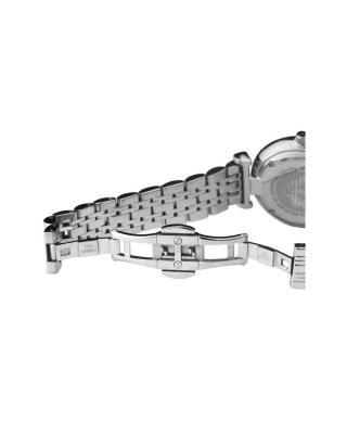 意大利Emporio Armani 安普里奥·阿玛尼典雅气质镶钻贝母色圆盘女士石英手表 AR1908
