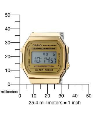 Casio 卡西欧复古潮流电子表 A168WG-9WDF