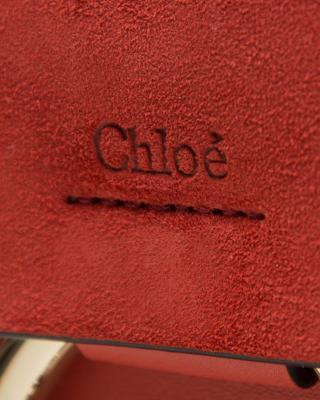 法国 Chloe 蔻依 橙红色牛皮女士单肩包 3S1127H2OBJR