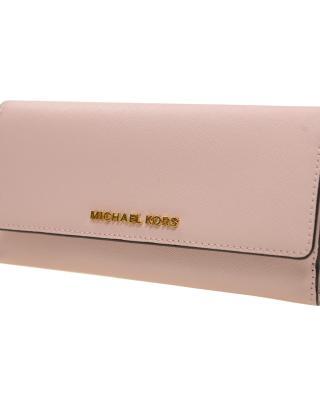全新 MICHAEL KORS迈克高仕 粉色女士长款钱包 32T5GTVF1L 656