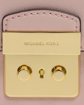 MICHAEL KORS 迈克高仕 粉色牛皮手提斜挎包 30T6GBDT2L 656