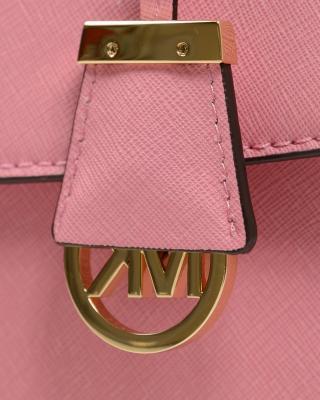 MICHAEL KORS 迈克高仕 粉红色十字纹牛皮中号单肩包 30T5GAVS3L 623