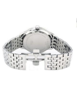 瑞士名表 Tissot 天梭 俊雅系列双表盘计时全钢石英男表 T063.637.11.067.00