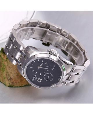 (预售)瑞士 Tissot 天梭 库图系列男士机械腕表 T035.428.11.051.00