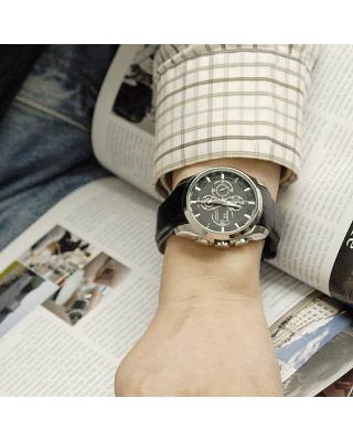 瑞士名表 Tissot 天梭 库图系列男士机械腕表 T035.627.16.051.00