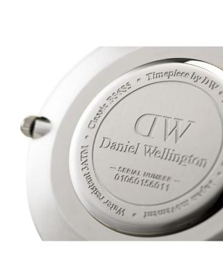 Daniel Wellington 丹尼尔惠灵顿 DW皮带石英男表 黑表盘 DW00100133