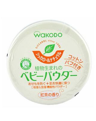 日本 WAKODO 和光堂 绿茶婴儿痱子粉 120g