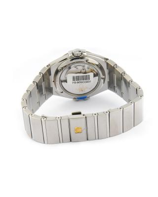 瑞士 Omega 欧米茄 星座系列放射纹托爪设计自动机械男表 123.10.35.20.10.001