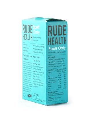 苏格兰 Rude Health 高纤维斯佩尔特燕麦饼干 200g 保质期到2018.11.16