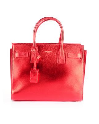 法国 YSL 圣罗兰 红色真皮手拿包 377183 B8B0J 6401