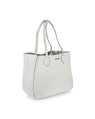 美国 Michael Kors 迈克高仕 白色女士手提单肩两用包