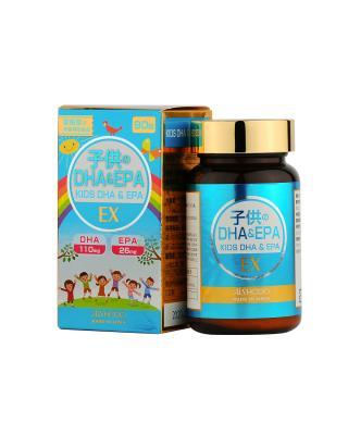 日本 AISHODO 爱粧堂 EX 儿童之 DHA&EPA 90粒