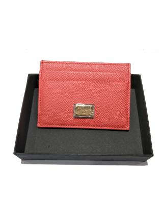 意大利 Dolce&Gabbana 杜嘉班纳D&G 红色防刮花 时尚卡包 BI0330 A1001 80301