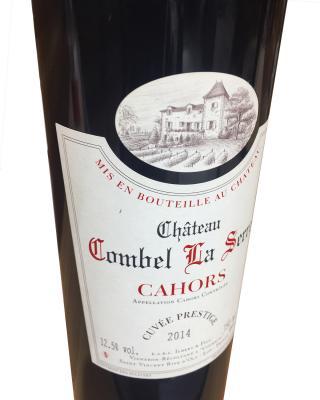 法国 2014 Chateau Combel La Serre 拉赛尔酒庄卡奥葡萄酒 12.5% 750ml