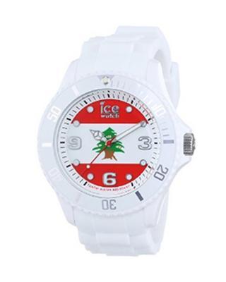 Ice Watch 比利时手表Ice-World系列限量世界杯纪念国旗表黎巴嫩夜光防水石英女表