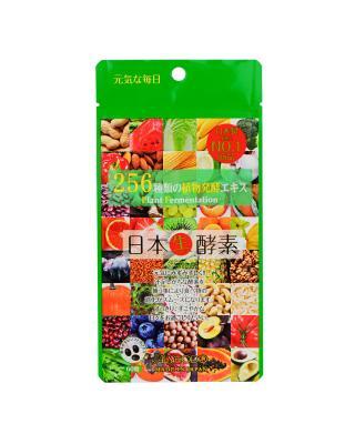 日本 AISHODO 爱粧堂 256种植物发酵 生酵素60粒 1包装