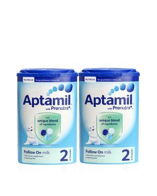 英国版 Aptamil 爱他美婴幼儿奶粉2段 900g 6-12个月 2罐装