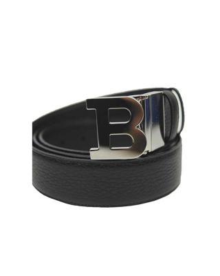 瑞士Bally巴利 男士真皮B字头Logo腰带6200123-110