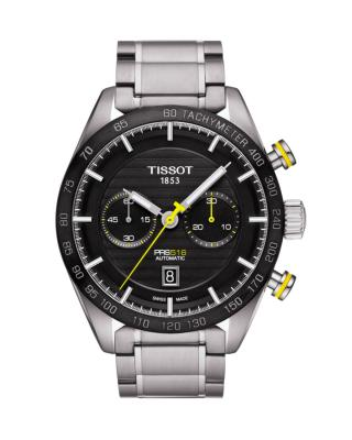 瑞士名表 Tissot 天梭 计时男士自动机械机芯腕表T100.427.11.051.00