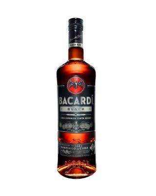 Bacardi Rum Carta Negra 百加得黑朗姆酒 1L 40%vol