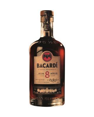 Bacardi Ron 8 Anos 百加得8年陈酿朗姆酒 1L 40%vol