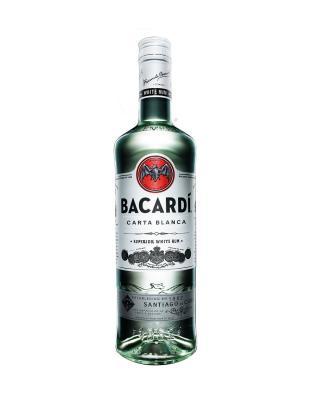 Bacardi Rum Carta Blanca 百加得超级朗姆酒 1L 40%vol