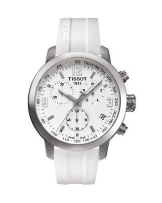 瑞士名表 Tissot 天梭 骏驰系列计时男士石英腕表T055.417.17.017.00