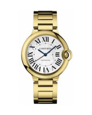 Cartier 卡地亚 Ballon Bleu 18K黄金机械男士腕表 69003Z2
