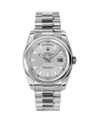 Rolex 劳力士 Day Date President 铂金蚝式 万年历 机械男士腕表 118206sip