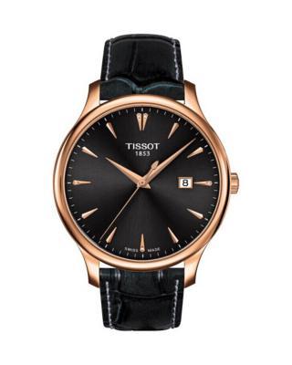瑞士名表 Tissot 天梭 俊雅系列经典复古石英男表 T063.610.36.086.00