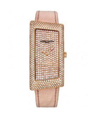 Vacheron Constantin 江诗丹顿 1972 18K玫瑰金加纯天然钻石 石英女士腕表 25510000R9184