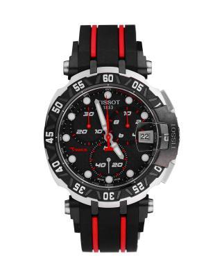瑞士名表 Tissot 天梭 竞速系列限量版男士石英腕表 T092.417.27.20.100