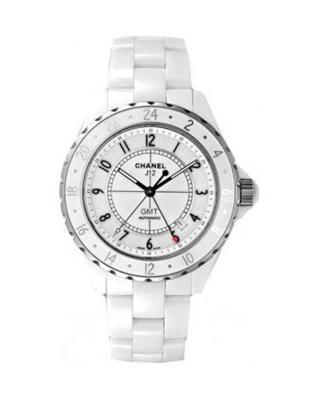 Chanel 香奈儿 J12 GMT 白色陶瓷机械男士腕表 H2126