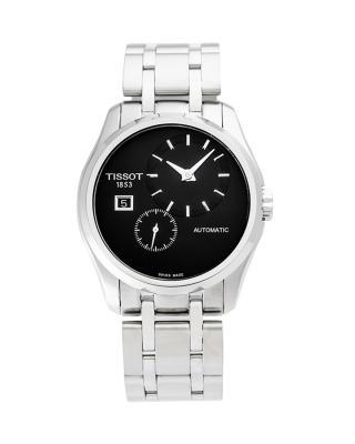 瑞士名表 Tissot 天梭 库图系列男士机械腕表 T035.428.11.051.00