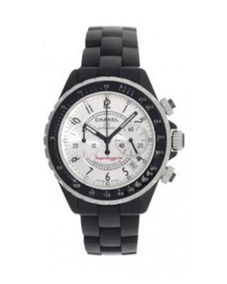 Chanel 香奈儿  J12 Superleggera 黑色陶瓷机械男士腕表 H2039