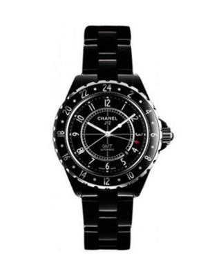 Chanel 香奈儿 J12 GMT 黑色陶瓷机械男士腕表 H2012
