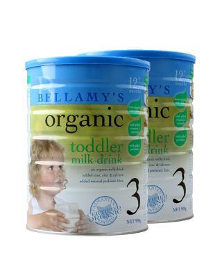 澳大利亚 贝拉米 Bellamy's 婴幼儿有机奶粉3段 (1-3岁以上) 900克 2罐装