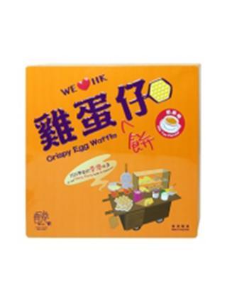 HK 香港駅 鸡蛋饼仔奶茶味礼盒装126g