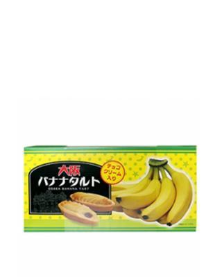 日本 松泽 大阪香蕉味挞礼盒装228g