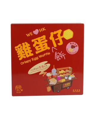 HK 香港駅 鸡蛋饼仔朱古力味礼盒装126g
