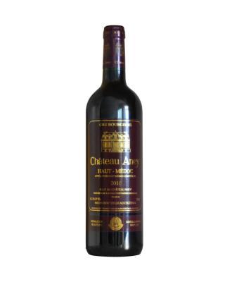 法国原装进口 上梅多克产区 阿内城堡2011红葡萄酒 375ml 12.5%vol. 中级庄AOC级别