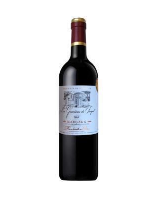 法国原装进口 玛歌村产区 塔雅砾石2014红葡萄酒 750ml 13%vol. 中级庄AOC级别