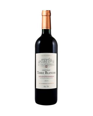 法国原装进口 卡萨蒂永山丘产区 布兰奇城堡2015红葡萄酒 750ml 14%vol. AOC级别