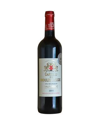 法国原装进口 上梅多克产区 幕林城堡2011红葡萄酒 750ml 12.5%vol. 中级庄AOC级别
